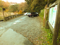 一碧湖駐車場の写真